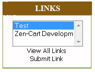 Links Manager Within Zen Cart