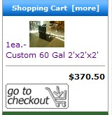 Shopping Cart Display Modification - Includes Item Image